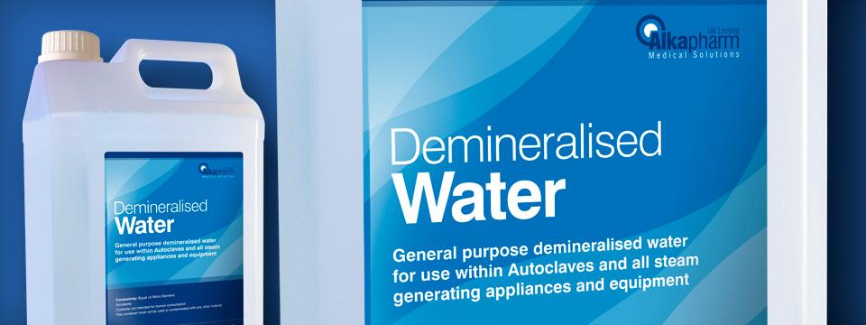 Alkapharm Demineralised Water