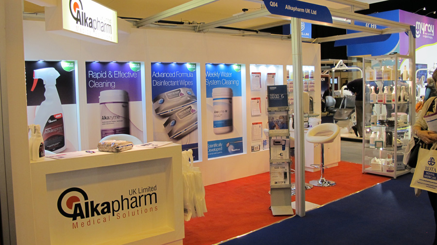 ALKAPHARM EXHIBITION STAND